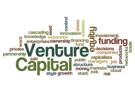 Venture capital equity funding investor concept background photo