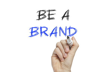 recognize: Hand writing be a brand on a white board