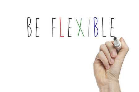 adaptable: Hand writing be flexible on a white board
