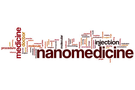 intramuscular: Nanomedicine word cloud concept