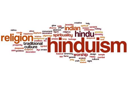 hinduism: Hinduismo concepto de nube de palabras