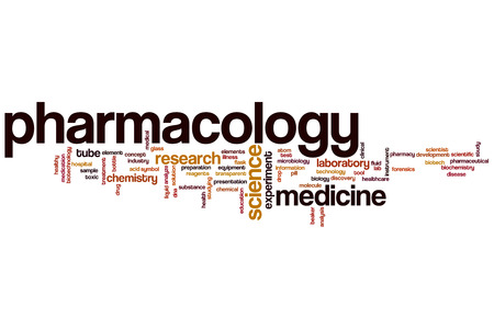 pharmacology: Pharmacology word cloud concept