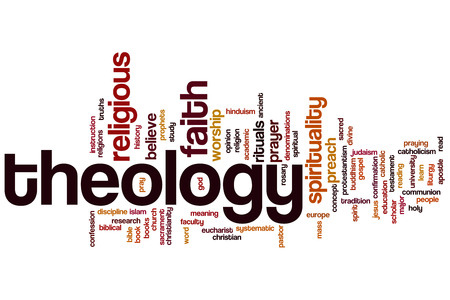 theology: Theology word cloud concept