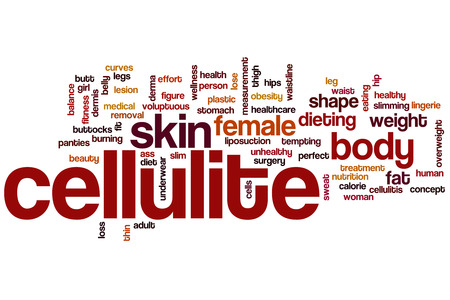 Cellulite word cloud concept