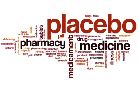 placebo: Placebo word cloud concept