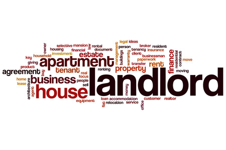 Landlord word cloud concept