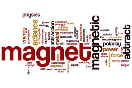 atraer: Im�n concepto de nube de palabras con fuerza atraer etiquetas relacionadas