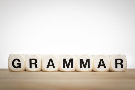 Grammatica is de set van structurele regels voor de samenstelling van clausules, zinnen en woorden in een bepaalde natuurlijke taal.