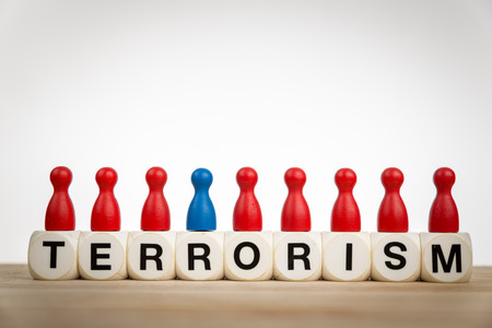 calculated: Terrorism - Criminal acts intended or calculated to provoke a state of terror in the general public Stock Photo