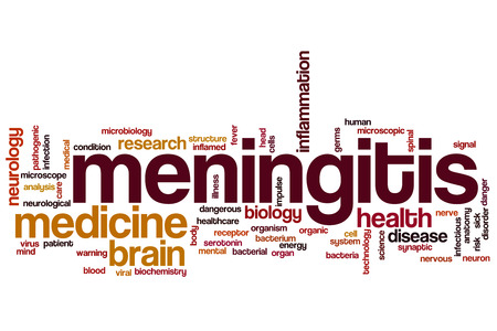 spinal conditions: Meningitis word cloud concept