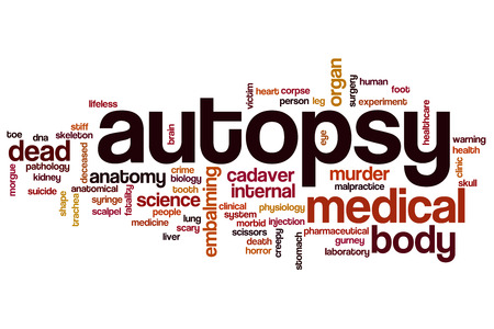 autopsy: Autopsy word cloud concept