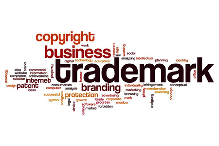Trademark word cloud