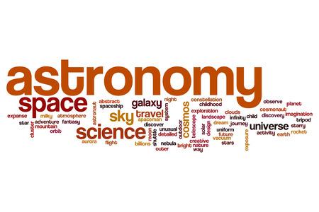 astronomy: Astronomy word cloud