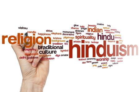 hinduismo: Hinduismo concepto de nube de palabras