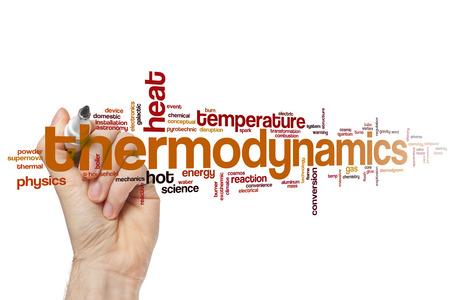 thermodynamic: Thermodynamics word cloud concept