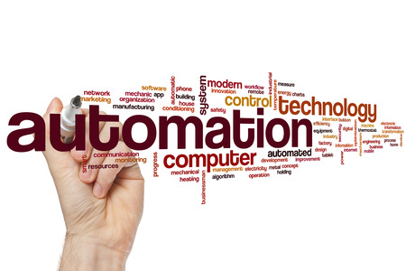 Automation word cloud concept