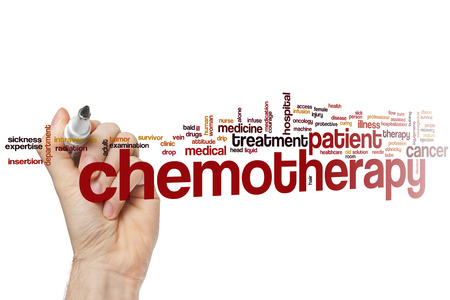chemotherapy: Chemotherapy word cloud concept