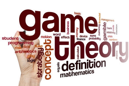 theory: Game theory word cloud concept