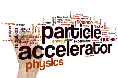 particle: Particle accelerator word cloud concept