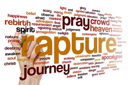 rapture: Rapture concept word cloud background
