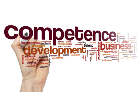 Kompetencia szó felhő