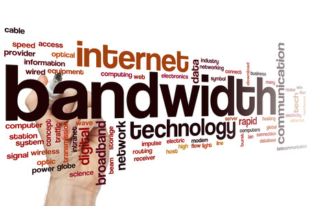 bandwidth: Bandwidth word cloud concept