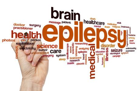 epilepsy: Epilepsy word cloud concept