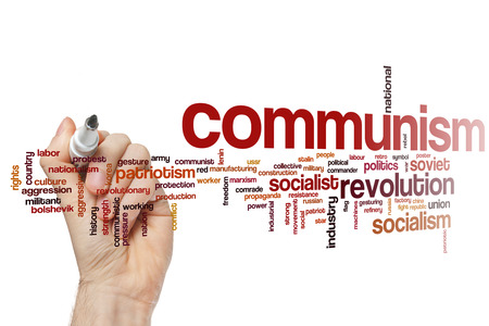 communism: Communism concept word cloud background Stock Photo