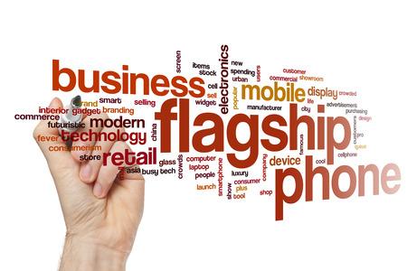 flagship: Flagship phone word cloud