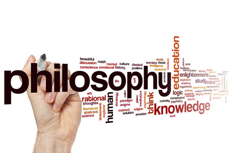philosophy: Philosophy concept word cloud background