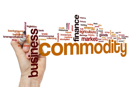 commodity: Commodity word cloud concept