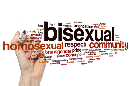 bisexual: Bisexual word cloud concept