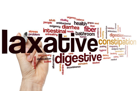 laxative: Laxative word cloud concept