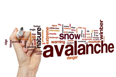 avalanche: Avalanche word cloud