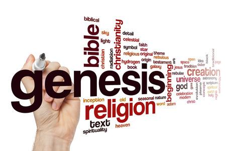 genesis: Genesis word cloud