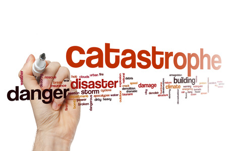 catastrophe: Catastrophe word cloud