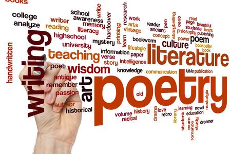 literatura: Poes�a concepto de nube de palabras