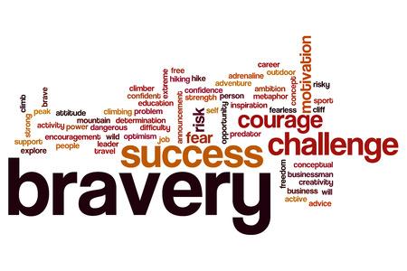 bravery: Bravery word cloud