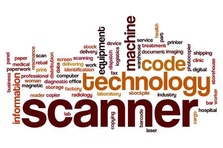 scanner: Scanner word cloud
