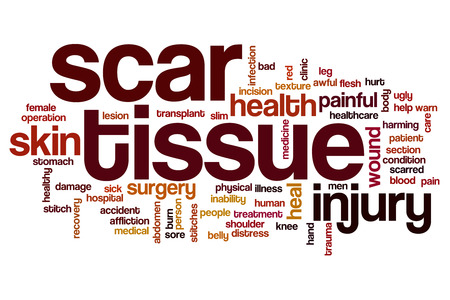 flesh surgery: Scar tissue word cloud