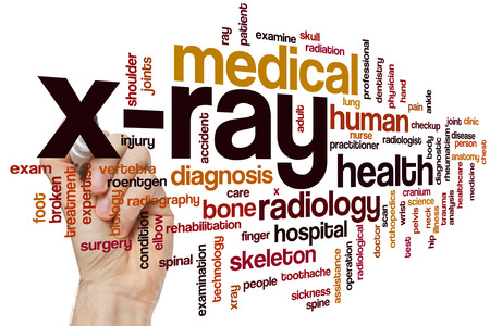 xray: Xray concept word cloud background