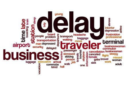 delay: Delay word cloud