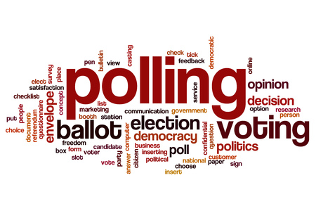 polling booth: Polling word cloud