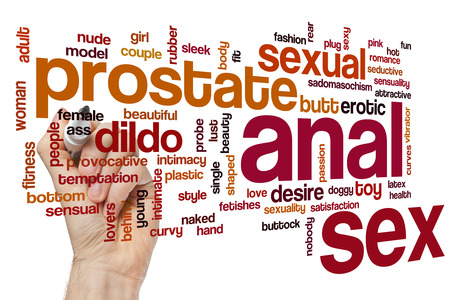 intimate sex: Anal sex word cloud