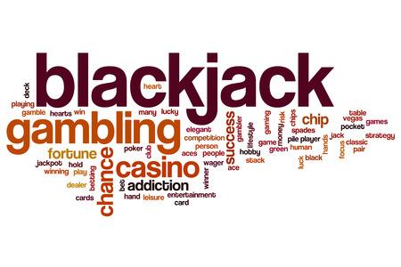 blackjack: Blackjack word cloud
