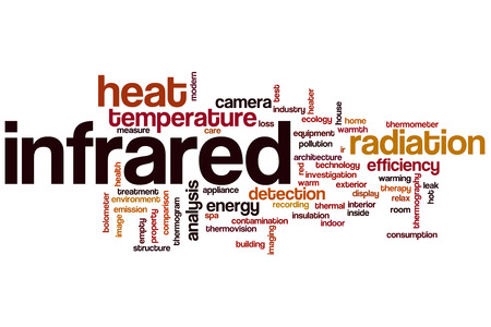 thermography: Infrared word cloud