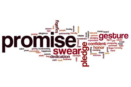 pledge of allegiance: Promise word cloud