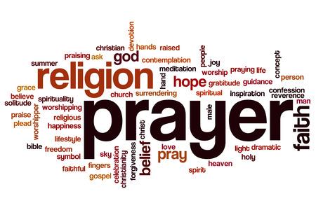 word cloud: Prayer word cloud
