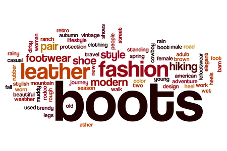 boot shoes: Boots word cloud