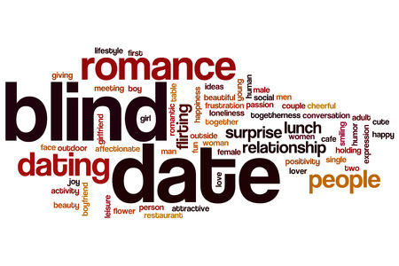 Blind Date: Blind date word cloud
